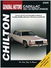 Cadillac (1967-1989) Chilton Manual