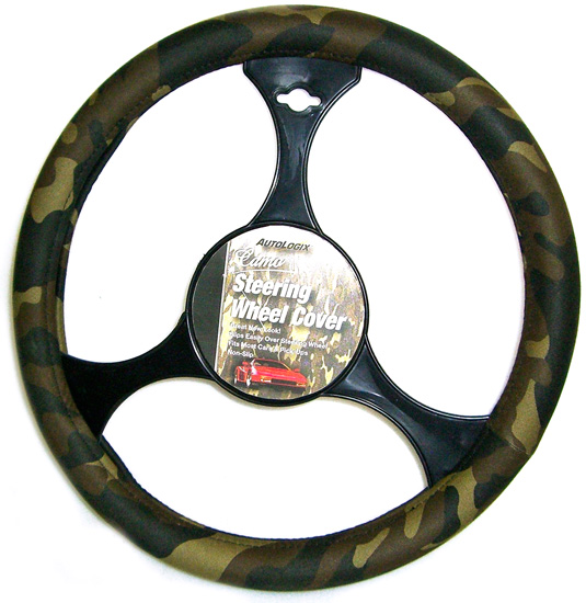 Image of Camouflage Steering Wheel Cover