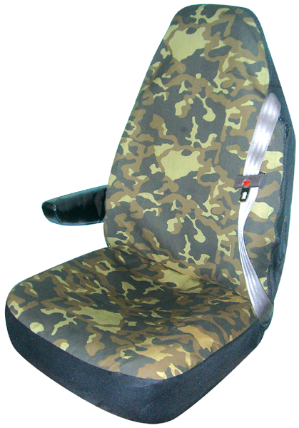 Image of Camouflage Truck Bucket Seat Cover (Pair)