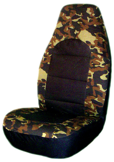 Image of Camouflage Universal Bucket Seat Covers