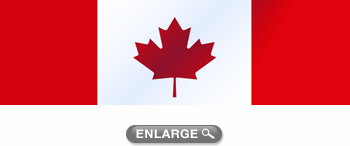 Canadian Flag Maple Leaf Rear Window Decal XXXSeries - Rear window decals for trucks canada