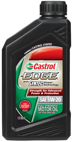 castrol edge w syntec synthetic motor oil oil062xx series. Black Bedroom Furniture Sets. Home Design Ideas
