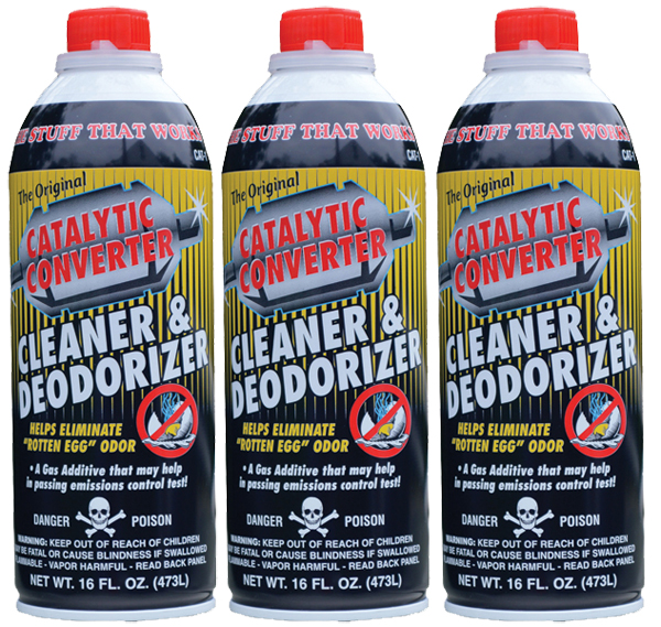 Image of Catalytic Converter Cleaner (16 oz.) - 3 Pack