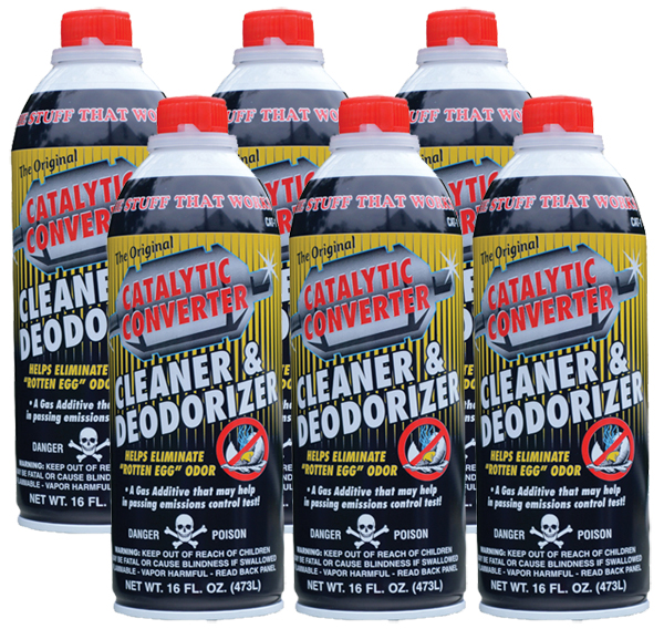 Image of Catalytic Converter Cleaner (16 oz.) - 6 Pack