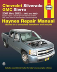 Chevrolet and GMC Pick-ups Haynes Repair Manual (2007-2012)