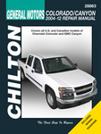 Chevrolet Colorado & GMC Canyon Chilton Manual (2004-2012)