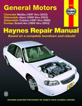 Chevrolet Malibu, Oldsmobile Alero & Cutlass, and Pontiac Grand Am Haynes Repair Manual (1997 thru 2003)