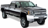Chevrolet Silverado Bushwacker Extend-A-Fender Flare Kit (2007-2014)