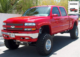 Chevy Silverado & GMC Sierra Bushwacker Pocket Style Fender Flare Kit (1999-2007)