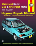 Chevrolet Sprint, Geo & Chevrolet Metro Haynes Repair Manual (1985-2001)