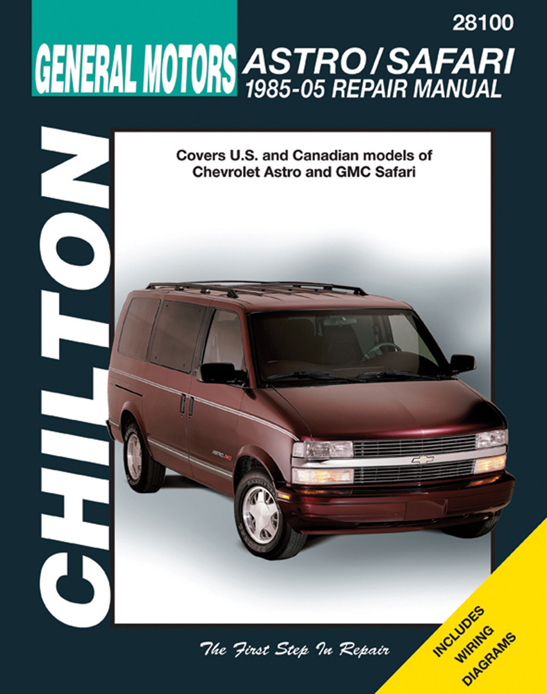 Chevy Astro & Safari Chilton Repair Manual (1985-2005)