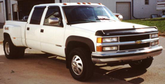 Chevy C/K 3500 Lund Elite Wide Style Fender Flares (1989-2000)