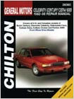 Chevy Celebrity, Buick Century, Oldsmobile Ciera, Cutlass Ciera, Cutlass Cruiser & Pontiac 6000 Chilton Manual (1982-1996)