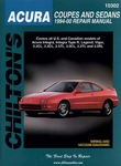 Chilton Repair Manual For Acura Coupes and Sedans (1994-2000)