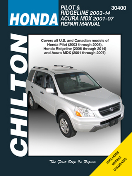 chilton repair manual for acura mdx honda pilot and ridgeline rh autobarn net 2003 acura mdx repair manual pdf 2003 acura mdx parts manual