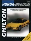 Chilton Repair Manual For Honda Accord & Prelude (1984-1995)
