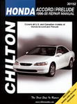 Chilton Repair Manual For Honda Accord/Prelude (1996-2000)