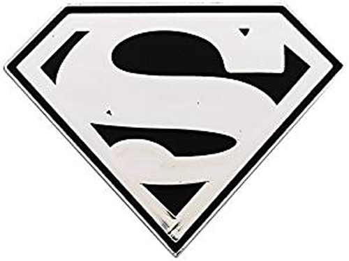 Superman Shield Chrome Colored Decal