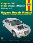 Chrysler 300, Dodge Charger & Magnum Haynes Repair Manual (2005-2010)
