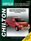 Chrysler Caravan, Voyager, and Town & Country Chilton Manual (1984-1995)
