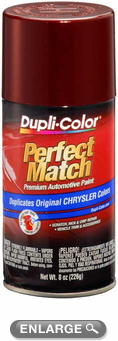Chrysler - Dodge - Jeep Dark Garnet Red Pearl Auto Spray Paint - PRV/XRV (2003-2005)