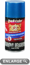 Chrysler - Dodge - Jeep Intense Blue Pearl Auto Spray Paint - PB3 (1998-2013)