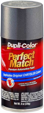 Chrysler Dodge Jeep Metallic Charcoal Gray Auto Spray