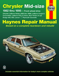Chrysler Mid-Size, Dodge Lancer & Plymouth Caravelle Haynes Repair Manual (1982-1995)
