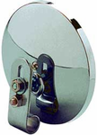 "CIPA 5"" Chrome Clamp-On HotSpots Convex Safety Mirror"