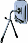 CIPA OE Style Universal Low Mount Chrome Side View Mirror