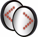 CIPA Spot Mirror With Wireless Turn Signals