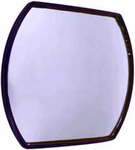 "CIPA Stick-On HotSpots 4"" x 5�"" Convex Safety Mirror"