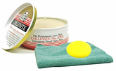 Collinite 476S Double-Coat Paste Wax (9 oz.), Microfiber Cloth & Foam Pad Kit