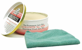 Collinite 476S Double-Coat Paste Wax (9 oz.) & Microfiber Cloth Kit