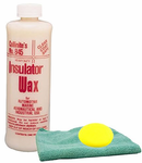Collinite 845 Insulator Wax (16 oz.) & Microfiber Cloth & Foam Pad Kit