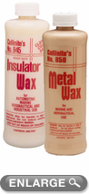 Collinite Insulator Wax (845) & Metal Wax (850) Combo Kit