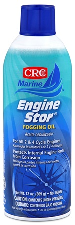 Image of CRC Engine Stor 2 & 4 Cycle Engine Fogging Oil (13 Oz)