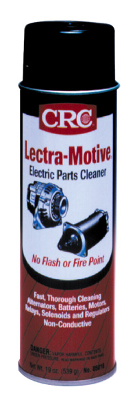 crc lectra motive electric parts cleaner 19 oz crc05018