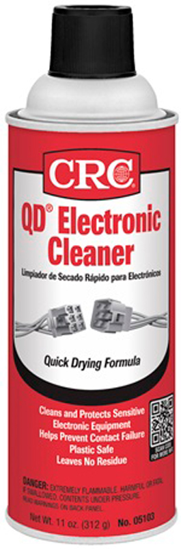 Image of CRC Quick Dry Electronics Cleaner 11 oz