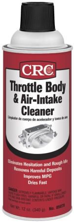 Image of CRC Throttle Body & Air Intake Cleaner 12 Oz