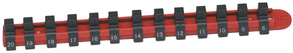 "Image of CTA 13 Piece 3/8"" Drive Metric Nylon Socket Rack"