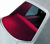 Dashmat Custom-Fit Rear Deck Cover