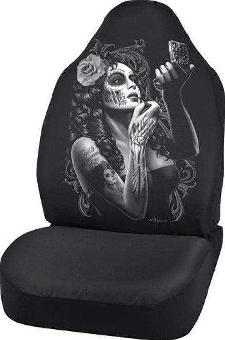 Saddleman Seat Covers >> David Gonzales Skin Deep Universal Bucket Seat Cover - VIC70274-9