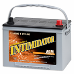 Deka 9A34R AGM Intimidator Battery (775 CCA)