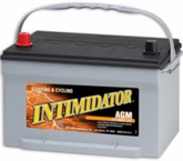 Deka 9A65 AGM Intimidator Battery (775 CCA)