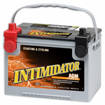 Deka 9A78DT AGM Intimidator Battery (775 CCA)