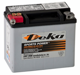 Deka ETX12 AGM Power Sport Battery (180 CCA)