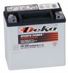 Deka ETX14L AGM Power Sport Battery (220 CCA)