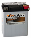 Deka ETX15L AGM Power Sport Battery (220 CCA)