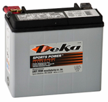 Deka ETX20L AGM Power Sport Battery (310 CCA)